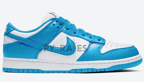 Nike Dunk Low White University Blue 2021 Release Date