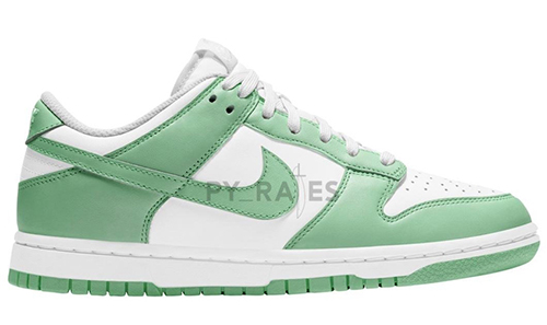 Nike Dunk Low WMNS White Green Glow 2021 Release Date