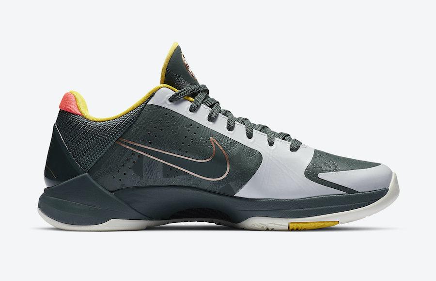 Nike Kobe 5 Protro EYBL Forest Green CD4991-300 Release Date Info