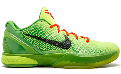 Nike Kobe 6 Protro Grinch 2021 Release Date
