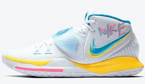 Nike Kyrie 6 Neon Graffiti Release Date