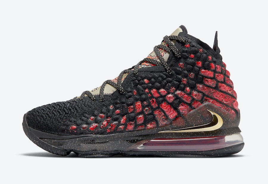 Nike LeBron 17 Courage CD5054-001 Release Date