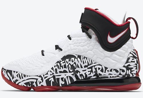 Nike LeBron 17 Graffiti Release Date