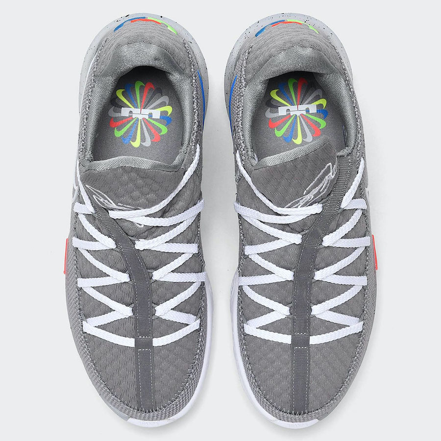 Nike LeBron 17 Low Particle Grey CD5007-004 Release Date Info