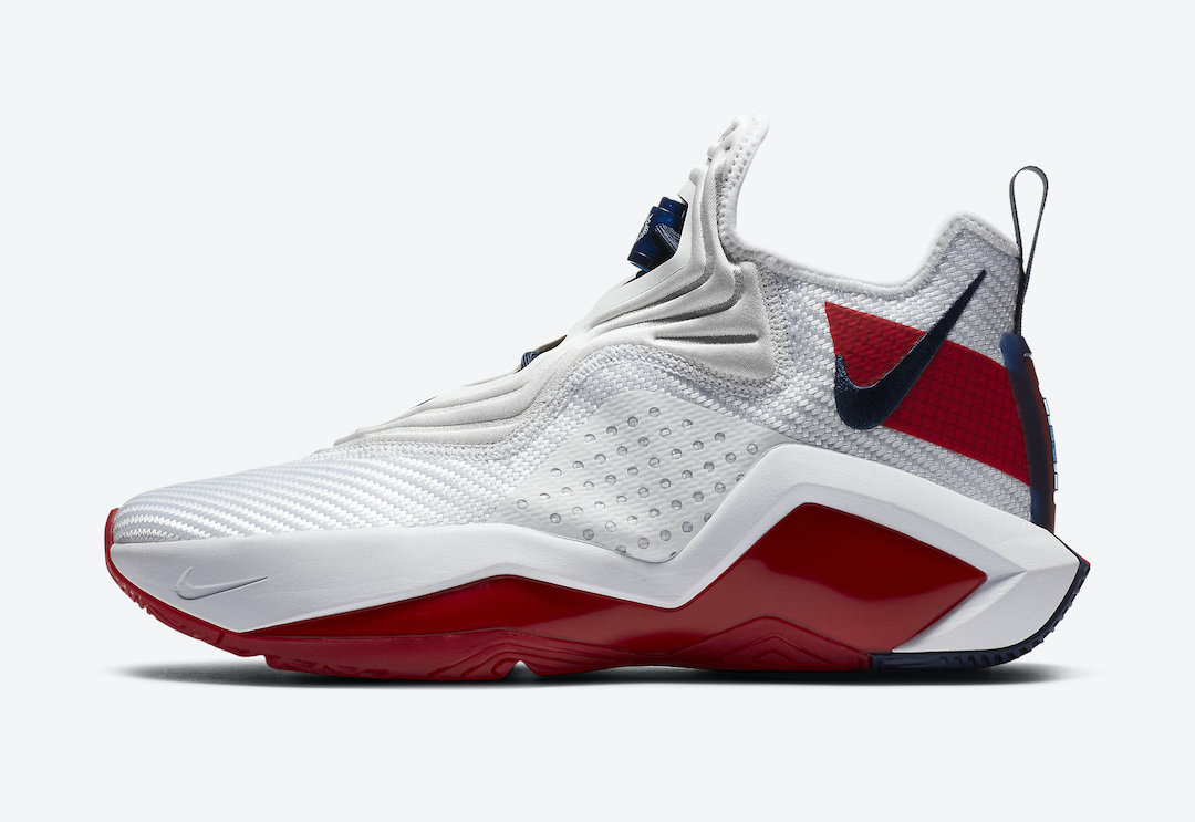 Nike LeBron Soldier 14 White Red CK6024-100 Release Date