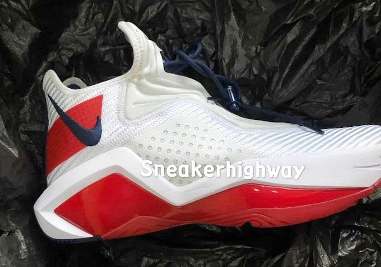 Nike LeBron Soldier 14 White Red CK6024-100 Release Date Info
