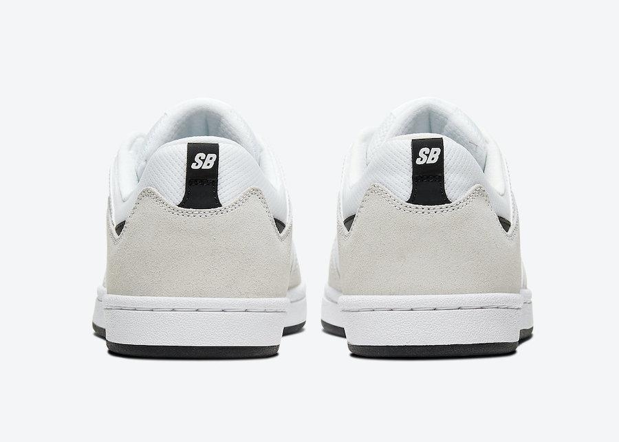 Nike SB Alleyoop White Black CJ0882-100 Release Date Info