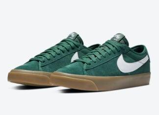 Nike SB Blazer Low GT Green Gum DC0603-300 Release Date Info