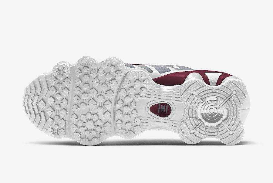 Nike Shox TL Grey Maroon AV3595-103 Release Date Info