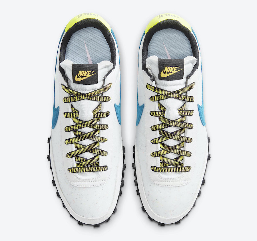 Nike Waffle Racer Green Abyss DA4655-100 Release Date Info