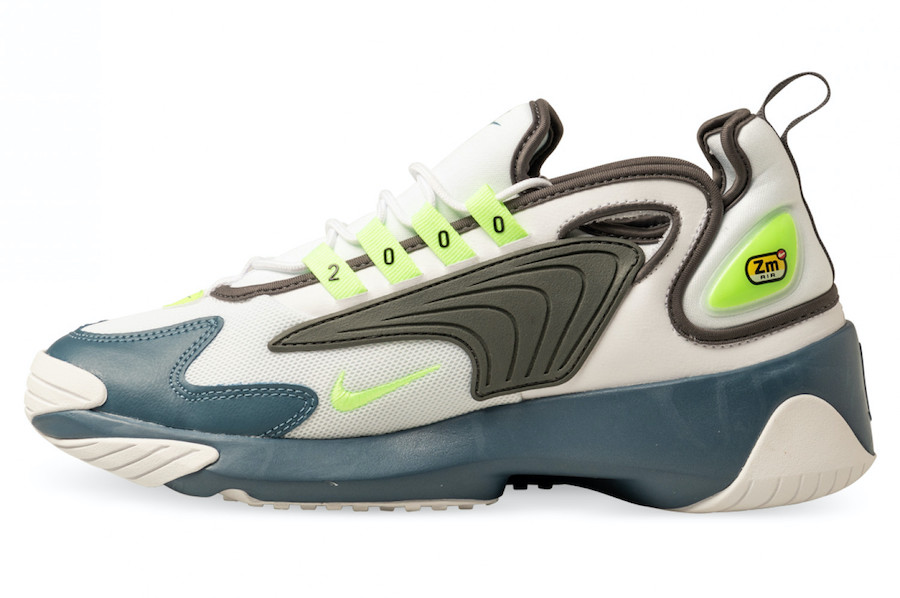 Nike Zoom 2K Ghost Green Iron Grey Thunderstorm AO0269-108 Release Date