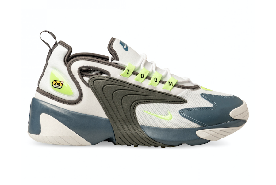 Nike Zoom 2K Ghost Green Iron Grey Thunderstorm AO0269-108