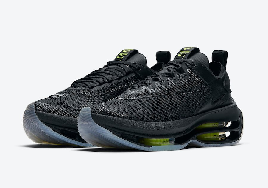 Nike Zoom Double Stacked Black Volt CI0804-001 Release Date Info