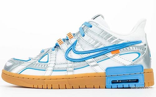 Off-White Nike Air Rubber Dunk University Blue Release Date
