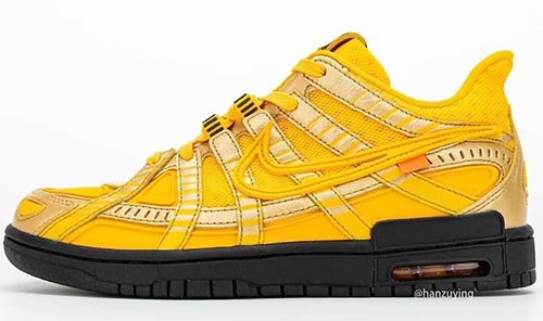 Off-White Nike Air Rubber Dunk University Gold Release Date