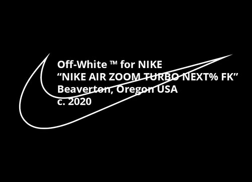 Off-White Nike Air Zoom Turbo Next Flyknit 2020 Release Date