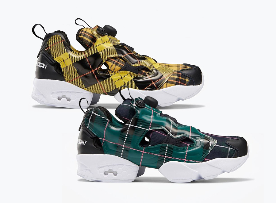 Opening Ceremony Reebok Instapump Fury Plaid FW2474 FW2475 Release Date Info
