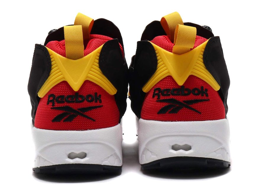 Reebok Instapump Fury Scarlet Red Yellow EH1788 Release Date Info