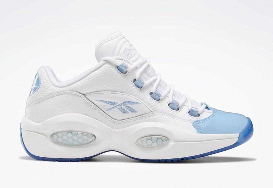 Reebok Question Low Summer Fluid Blue Toe FX5000 Release Date Info