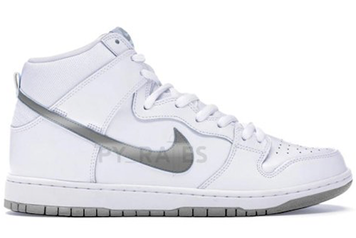 Slam Jam Nike Dunk High White Clear Pure Platinum Release Date