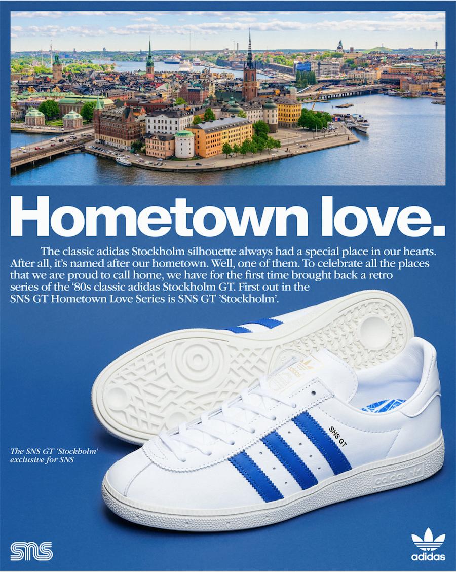 SNS adidas Stockholm GT FV7933 Release Date Info