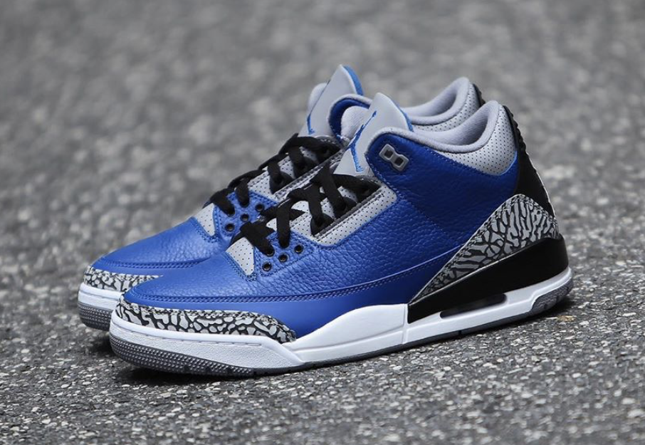 Varsity Royal Air Jordan 3 CT8532-400 Release Date