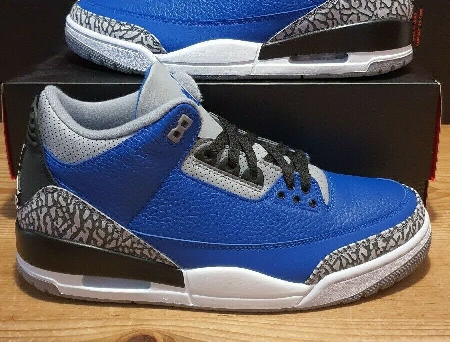 Varsity Royal Air Jordan 3 CT8532-400