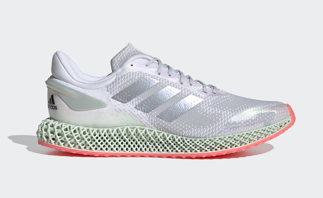 adidas 4D Run 1.0 Silver Pink FV6960 Release Date