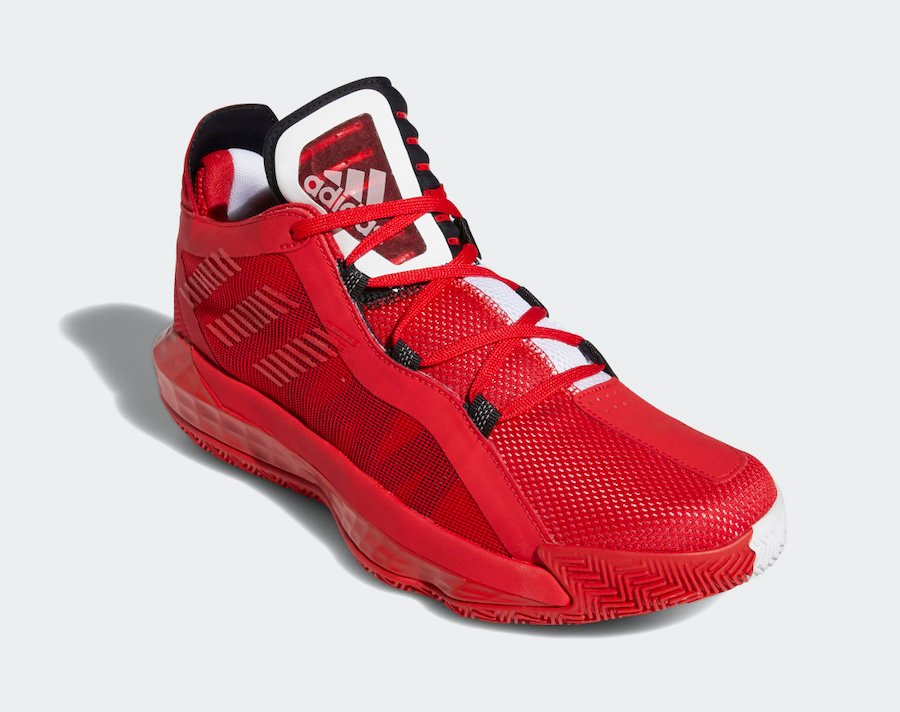 adidas Dame 6 Scarlet Red FY0850 Release Date Info