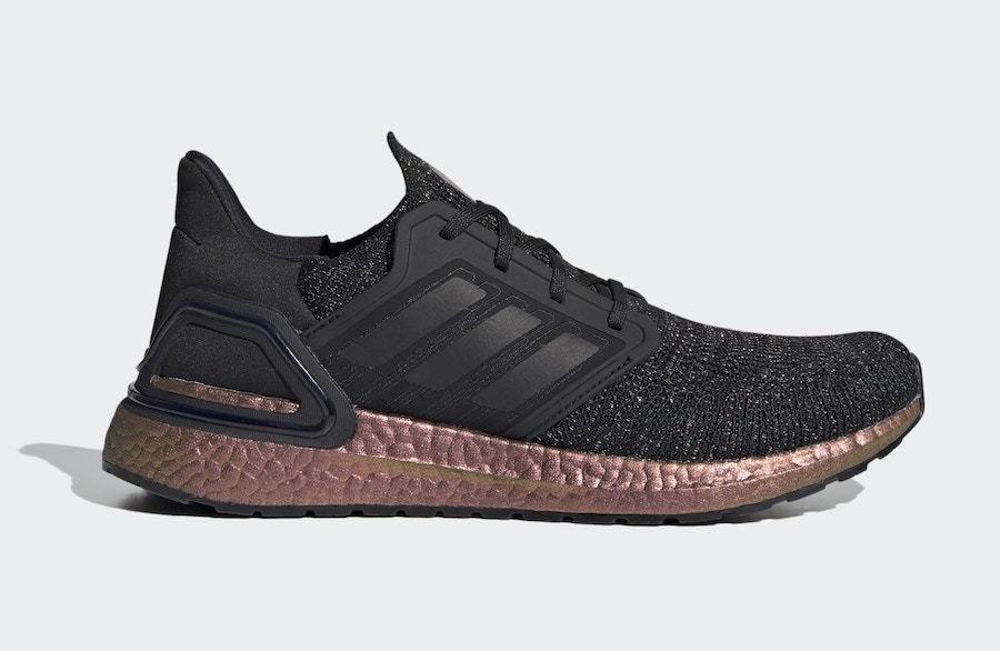 adidas Ultra Boost 2020 Available in Black with Bronze Boost