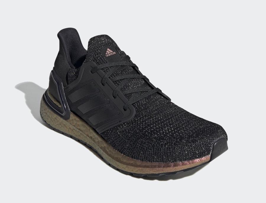adidas Ultra Boost 2020 Black Bronze Boost FV8335 Release Date Info