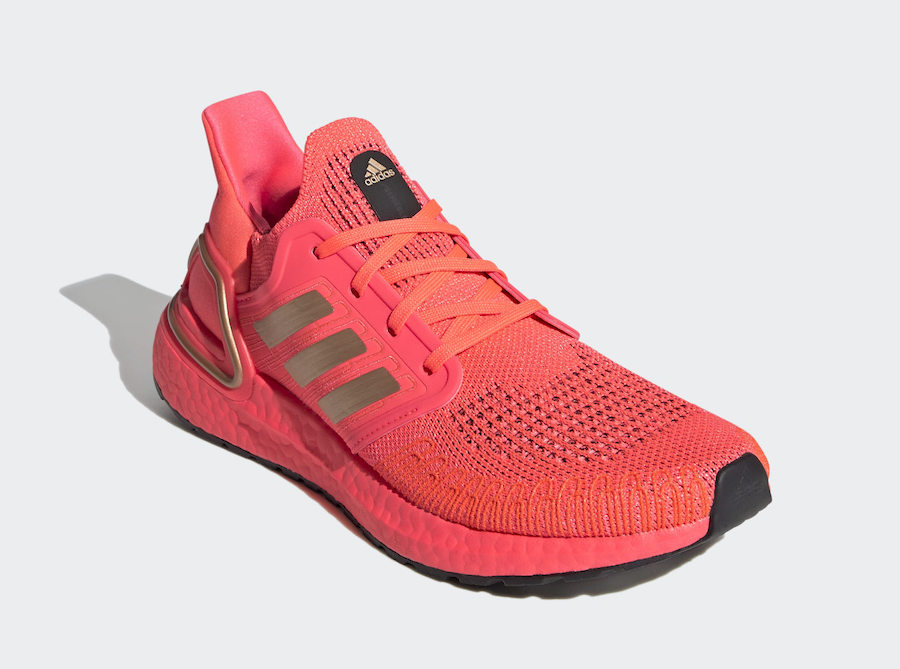 adidas Ultra Boost 2020 Signal Pink FW8726 Release Date Info