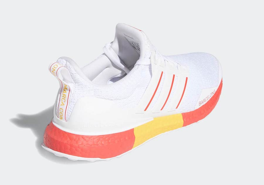 adidas Ultra Boost DNA Barcelona FY2896 Release Date Info