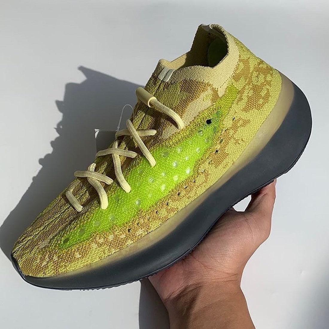 adidas Yeezy Boost 380 Hylte Glow FZ4990 Release Info