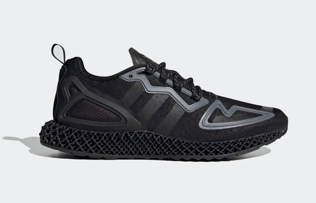 adidas ZX 2K 4D Core Black FZ3561 Release Date Info