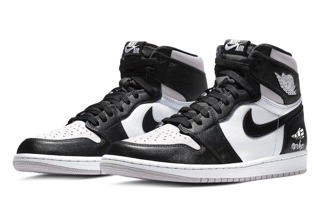 Air Jordan 1 Black White Light Smoke Grey 555088-035 Release Date Info