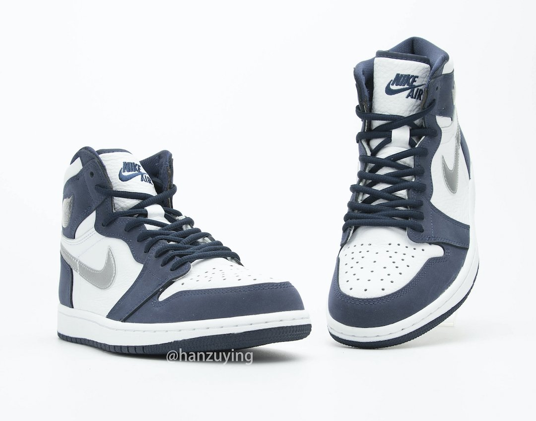 Air Jordan 1 CO.JP Japan Midnight Navy DC1788-100 Release Date