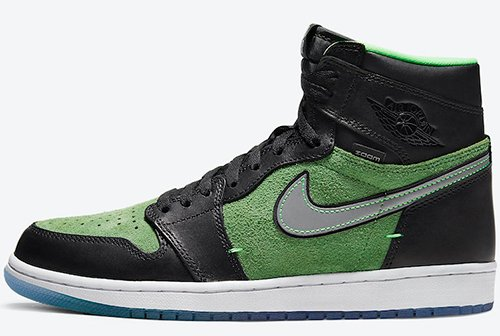 Air Jordan 1 High Zoom Brut Rage Green Release Date