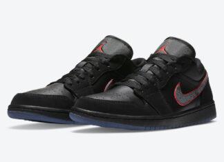 Air Jordan 1 Low Black Red Orbit CK3022-006 Release Date Info