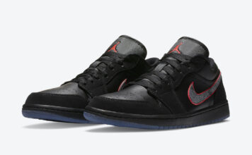 Air Jordan 1 Low Black Red Orbit CK3022-006 Release Date Info