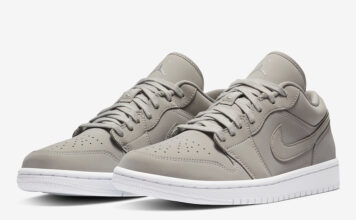 Air Jordan 1 Low Grey Fog DC0774-002 Release Date Info