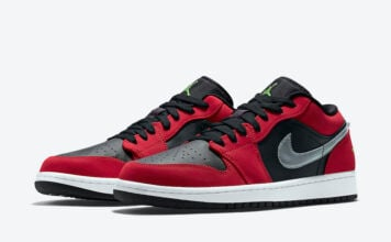 Air Jordan 1 Low Gym Red Green Pulse 553558-036 Release Date Info