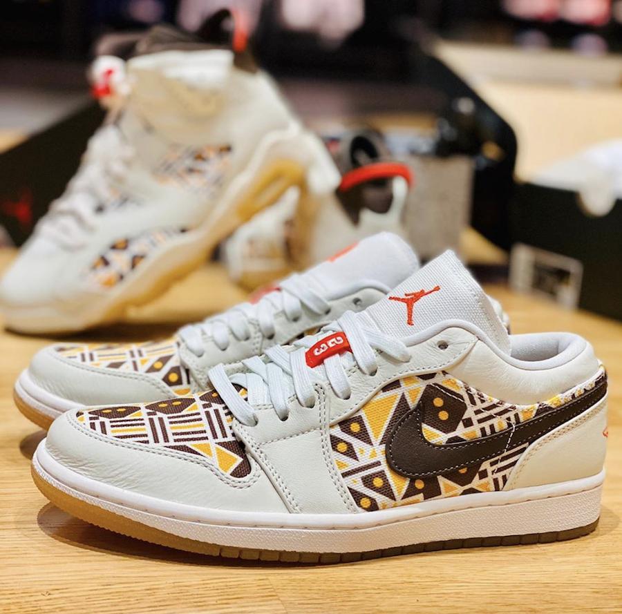 Air Jordan 1 Low Quai 54 Release Date Info