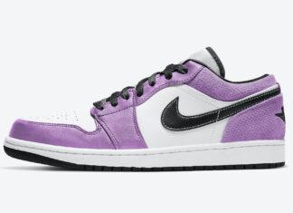 Air Jordan 1 Low White Purple CK3022-503 Release Date Info