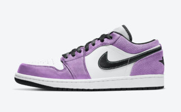 Air Jordan 1 Low White Purple CK3022-503 Release Date Info