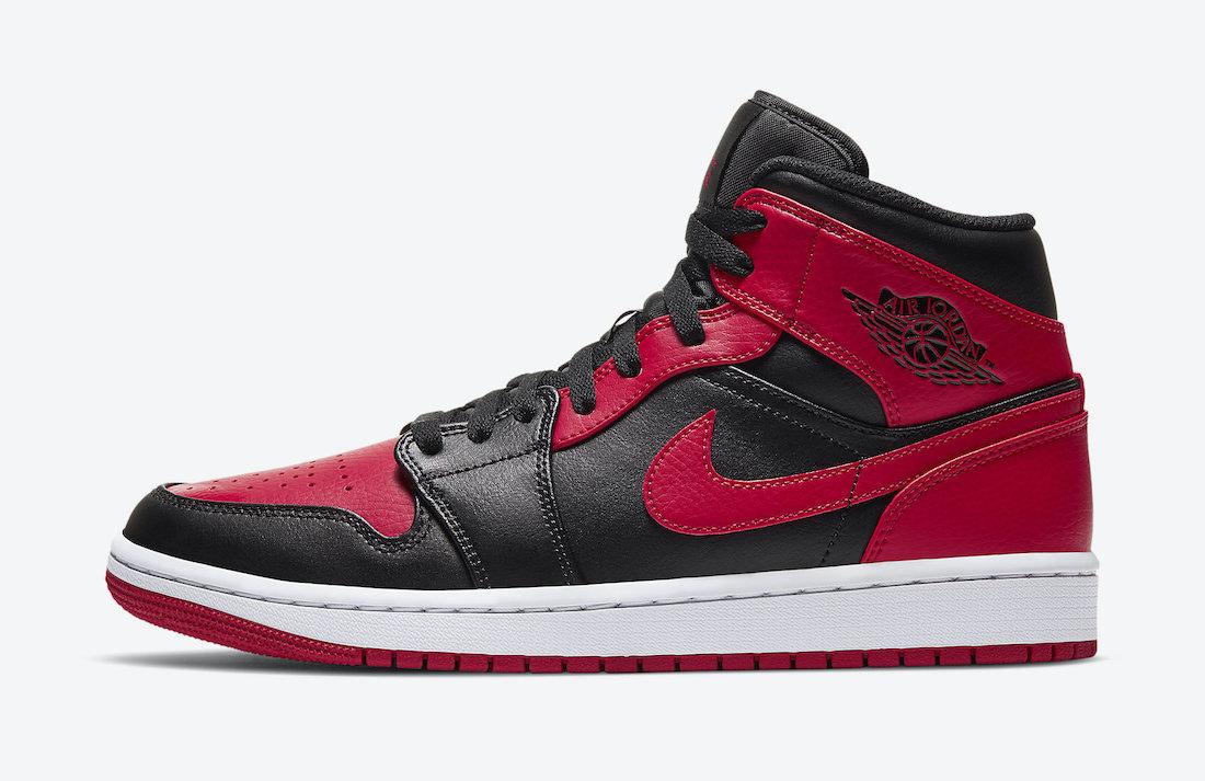 Air Jordan 1 Mid Bred 554724-074 2020 Release Date