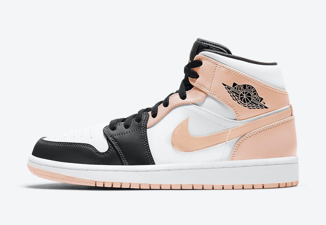 Air Jordan 1 Mid 'Crimson Tint' Releasing Soon