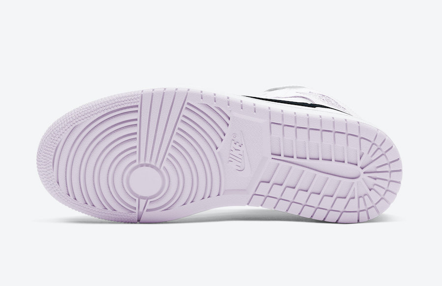 Air Jordan 1 Mid White Pink Black BQ6472-500 Release Date Info
