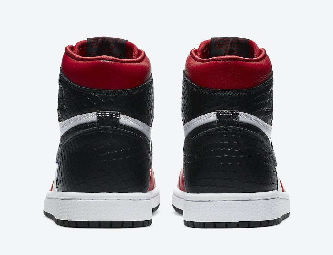 Air Jordan 1 Womens Satin Snake CD0461-601 Release Info