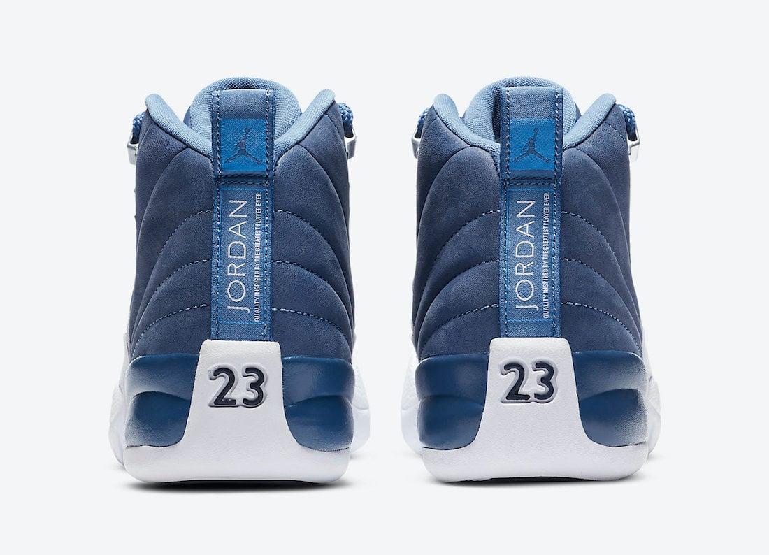 Air Jordan 12 Indigo Stone Blue 130690 404 Release Date Info